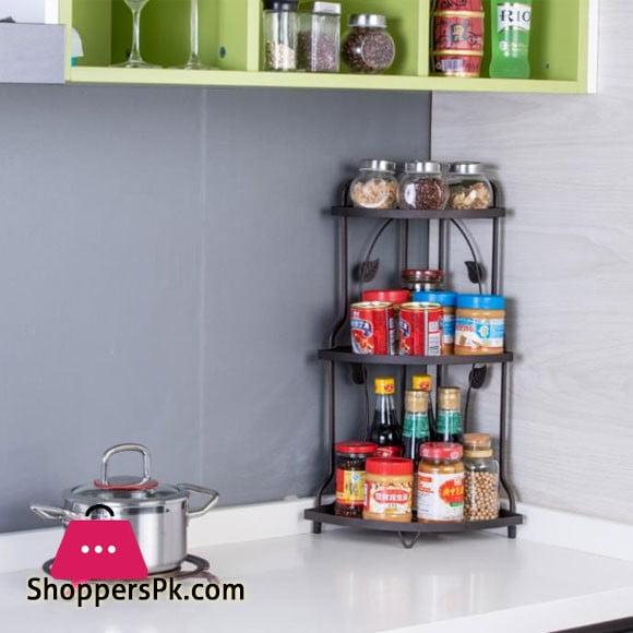 High Quality 3 Floor Corner Rack
