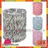 Kids Mandi Polyester Laundry Basket with Zippered Lid 15 x16-inch -1 Pcs