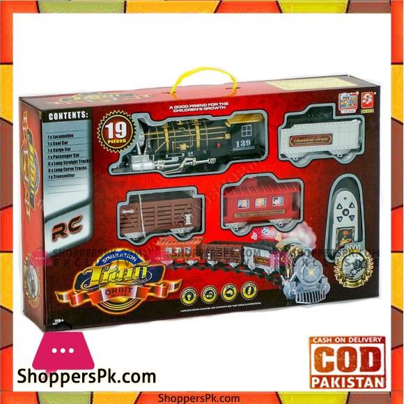 Simulation Train Orbit Series Toy For Kids
