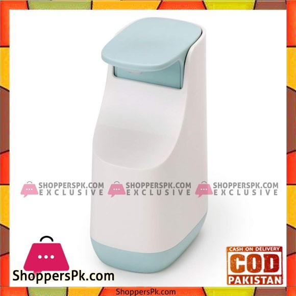 Slim Compact Soap Dispenser with Non-Drip Nozzle