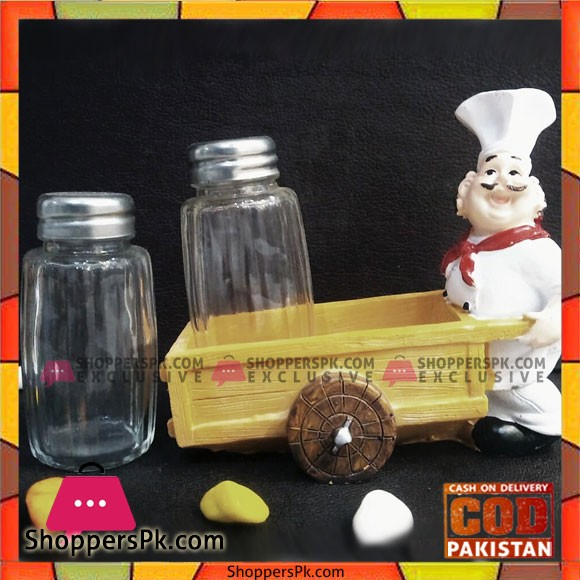 Table Decoration Chef Salt and Pepper Set