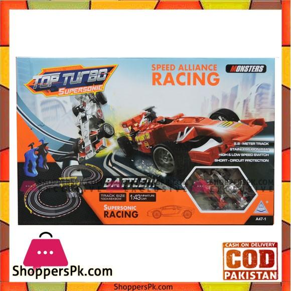 Top Turbo Supersonic Speed Alliance Racing