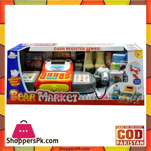 Toys Bear Market Cash Register Series