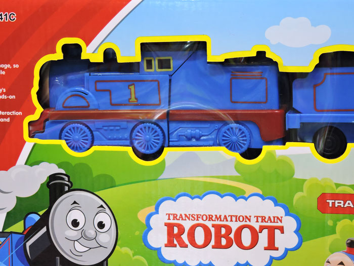 Transformers Electric Track Train Toy For Kids