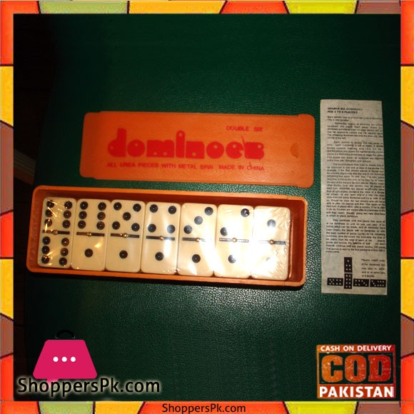 Vintage Double Six Dominos 2-4 PLayer
