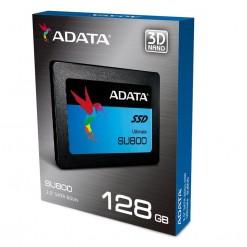 ADATA SU800 128GB 3D-NAND 2.5 Inch SATA III Solid State Drive, ASU800SS-128GT-C