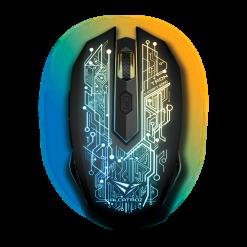 Alcatroz X-Craft AIR Tron 5000 2.4 Wireless Optical Sensor Gaming Mouse