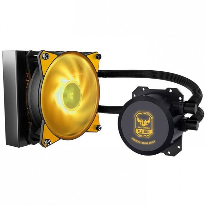 Cooler Master - MasterLiquid ML120L RGB TUF Gaming Edition, MLW-D12M-A20PW-RT, CPU Cooler