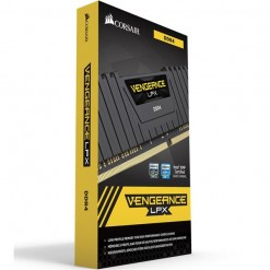 Corsair Vengeance® LPX 16GB (2x8GB) DDR4 DRAM 3000MHz C15 Memory Kit - Black (CMK16GX4M2B3000C15)