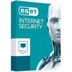 ESET Internet Security®  - 1 User - 1 Year - With Media