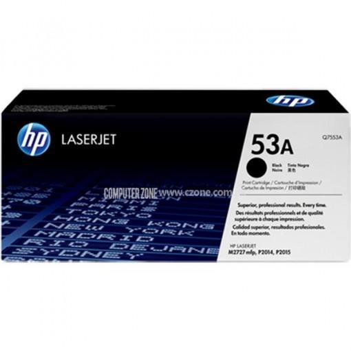 HP 53A Black Original LaserJet Toner Cartridge (Q7553A)
