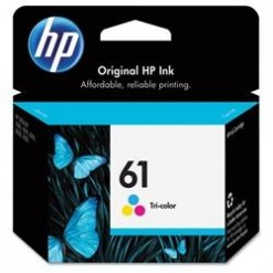HP 61 Tri-color Inkjet Print Cartridge