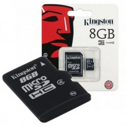 Kingston Micro SD 8GB Card Class4