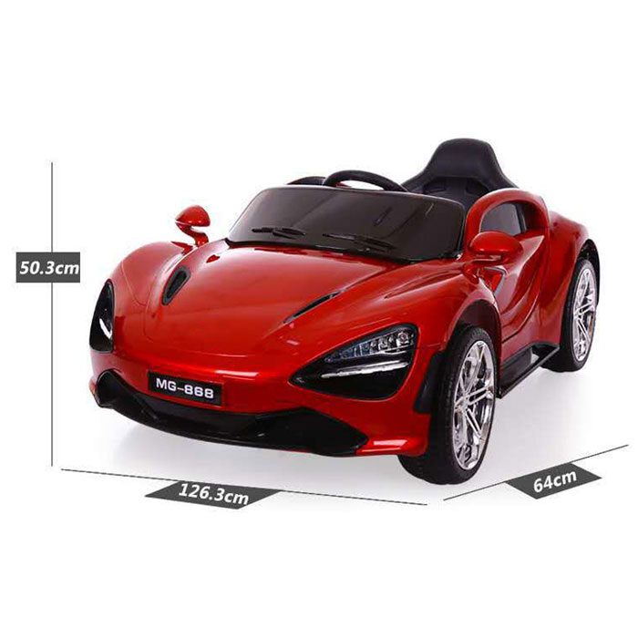 Four Wheels With Suspension Electric Toy Car 6V Double Battery and Drive Electric Toy Car