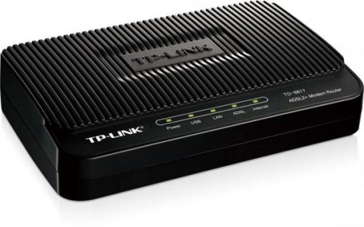 Tplink TD-W8817G ADSL2+Ethernet/USB Modem Router 1-Port