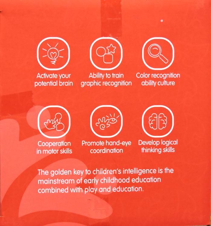 120Pcs DIY Larger Particles Block Toy For Kids