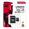 Kingston Canvas Select 16GB microSDHC Class 10 microSD Memory Card (SDCS/16GB)
