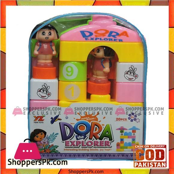 20pcs Dora The Explorer Block Set