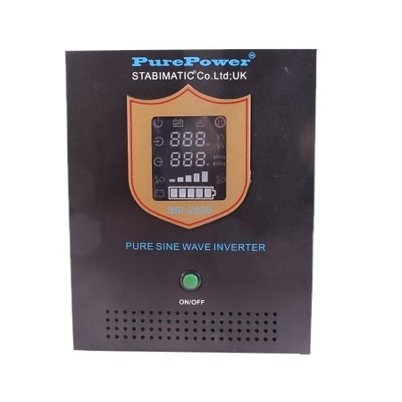 Stabimatic 1800W/24 – Pure Sine Wave Inverter With Charger SSI – 2500