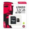 Kingston Canvas Select 32GB microSDHC Class 10 microSD Memory Card (SDCS/32GB)