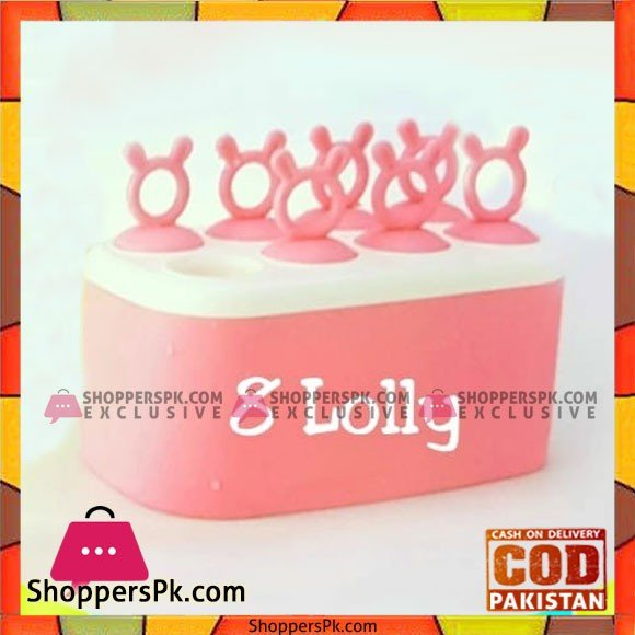 8 Lolly Ice Lolly Mould