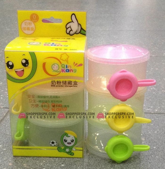 Baby Food Containers for Travel Marvelous 3 Layer Baby Infant Food Milk Feeding Powder Dispenser