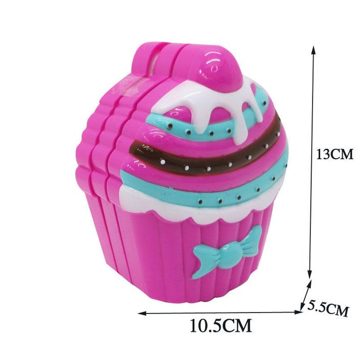 Cute Cake Shape Girl Child Kid Makeup Set Kit Lipstick Toys For Kids