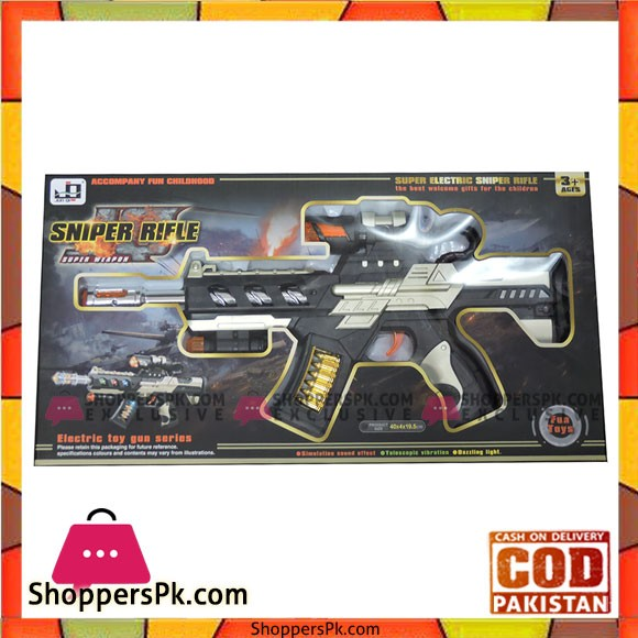 Electric Infrared Gun With Light Music Toy For Kids