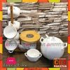 High Quality 19 Pcs Soup Set With Wooden Stand