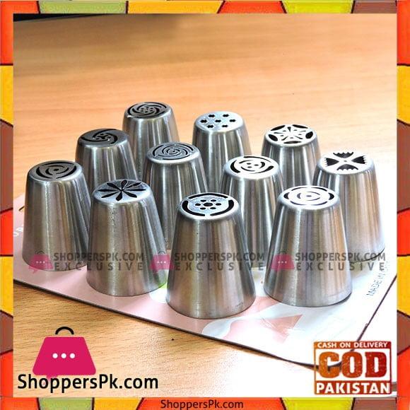 High Quality Russian Nozzels Pack of 11Pcs