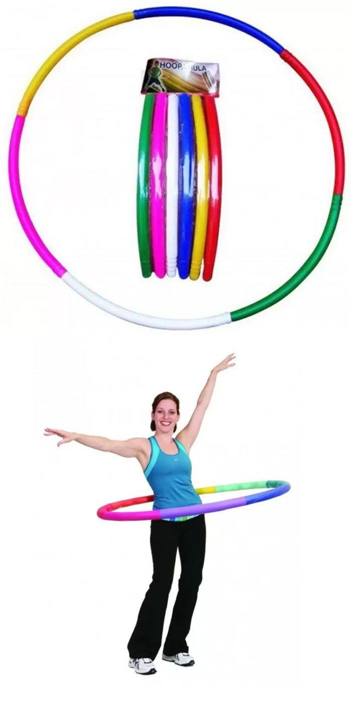 Hoopa Hula Ring and Bearing Orange Color Skipping Rope