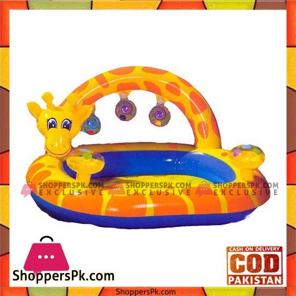 Intex Inflatable Giraffe Pool 57404 112 X 102 X 56 CM