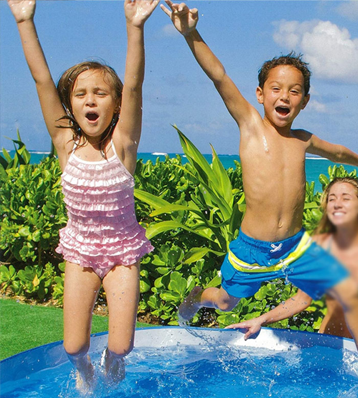 Intex Ocean Reef Snapset Inflatable Pool - 8 Feet x 18 Inches - 36 months - 10 years - 56453