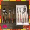 Linea Sharen High Quality Wooden Design 24Pcs Cutlery Set