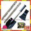 Multi Function Axe Spade Shovel Saw Knife Weapon Tool Camping Tools 4 Pcs Set