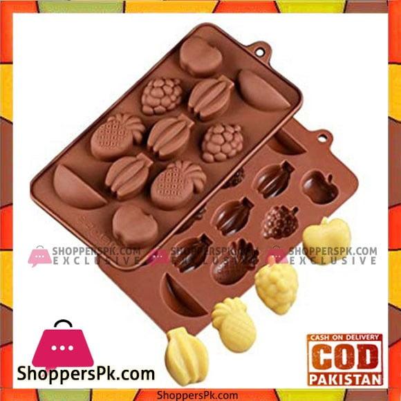 Silicon Fruit Chocolate Mold 1Pcs