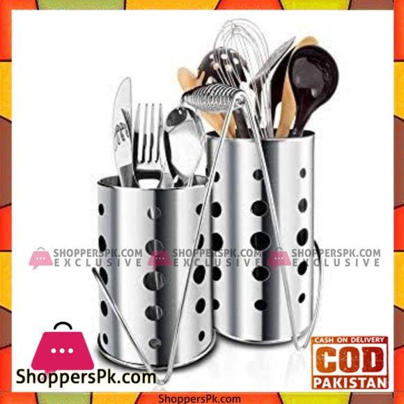 Stainless Steel Kitchen Utensils Forks Spoon Knives Chopsticks Cutlery Holder Organizer Malaysia