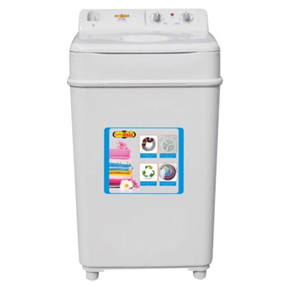 Super Asia SA-240 -Super Wash Semi Automatic Washing Machine 8 Kg White (Brand Warranty) - Karachi Only