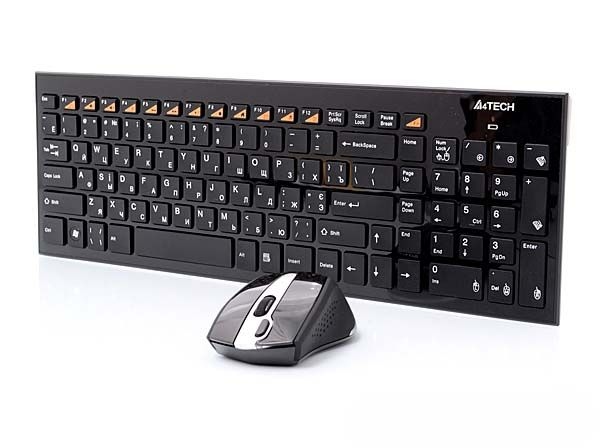 A4Tech 9500F Keyboard + Mouse Wireless