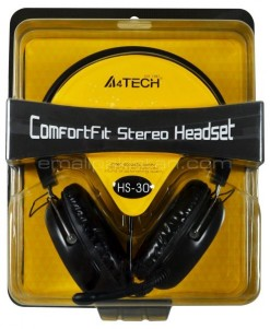 A4Tech H 30 Headphone
