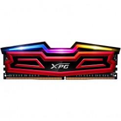 ADATA 8GB SPECTRIX D40 DDR4 RGB Memory Module, 2666MHz PC4-21300, AX4U266638G16-SRS, Red