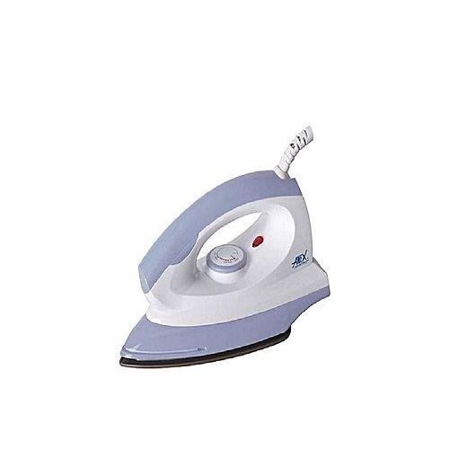 Anex Ag-2075 Dry Iron Light Weight White
