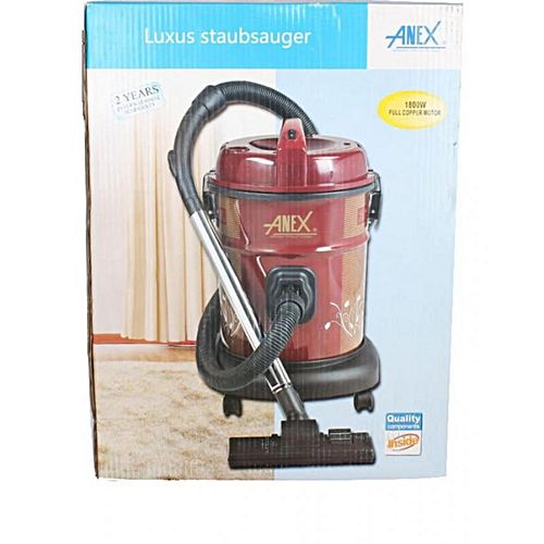 Anex AG2098 Vacuum Cleaner Red