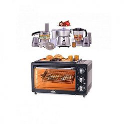 Anex AG3069TT Rotissrie Oven Toaster & Convection Grill with AG2150 Kitchen Robots