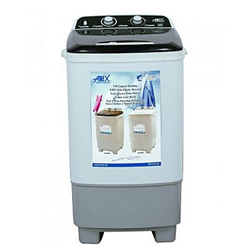 Anex ANEX AG9003 Washing Machine Single Tub White Top Transparent Black
