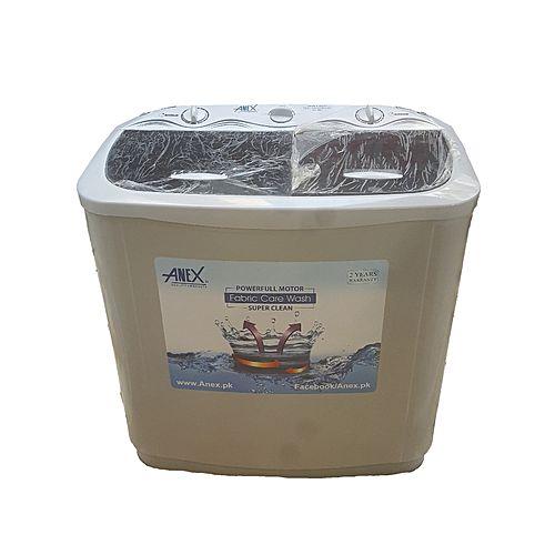 Anex ANEX AG9061 Washing Machine Twin Tub White Top Transparent Black