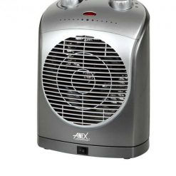 Anex Ceramic Fan Heater AG-3034 in Silver & Grey