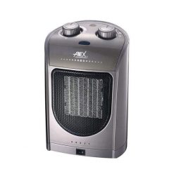 Anex Ceramic Fan Heater AG-3036 Silver & Grey