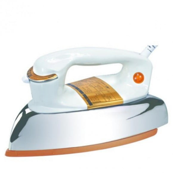 Anex Dry Iron with Handle AG-1080B in White