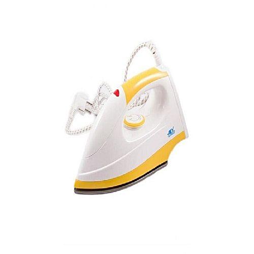 Anex Light Weight Dry Iron White And Yellow
